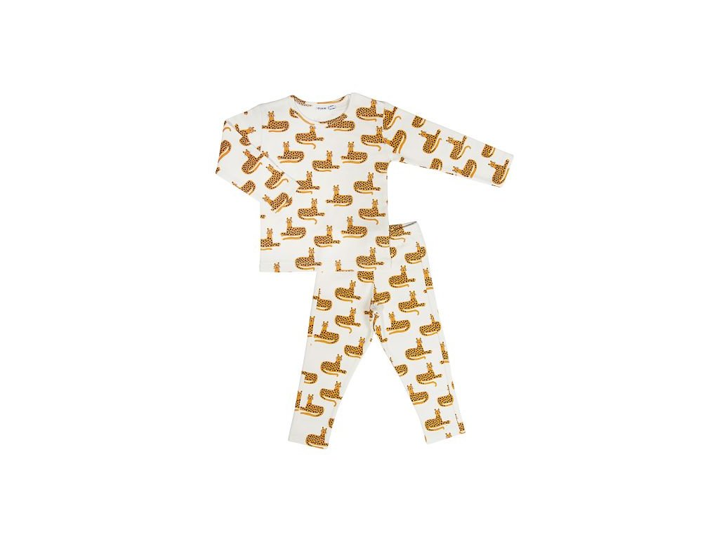 3153 2 detske pyzamo trixie cheetah 8 let