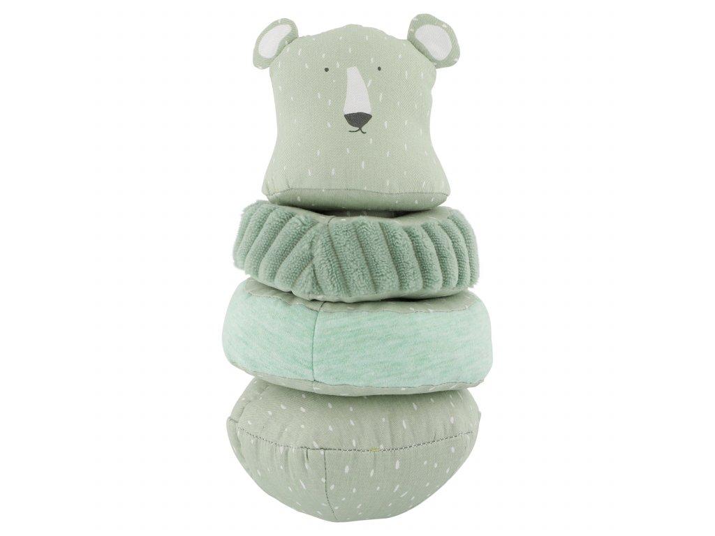 3345 stohovaci plysova hracka trixie mr polar bear