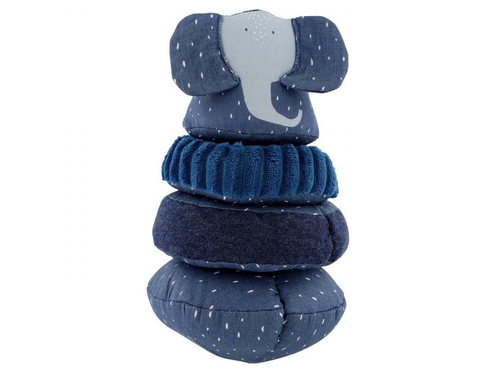3375 stohovaci plysova hracka trixie mrs elephant