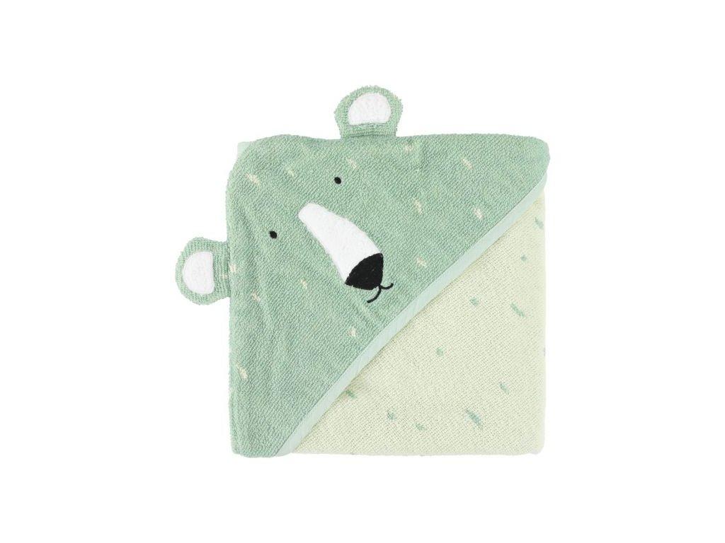 3471 1 detska osuska s kapuci trixie ledni medved
