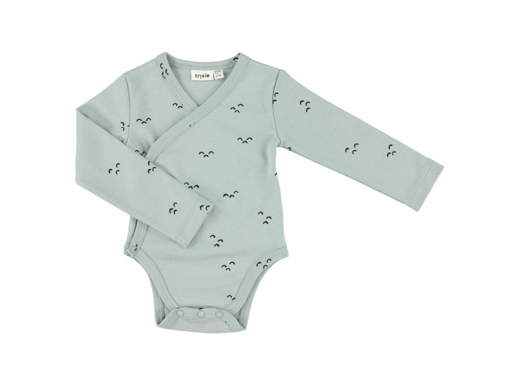Cross-over body long | 62/68 - 3/6m - Mountains