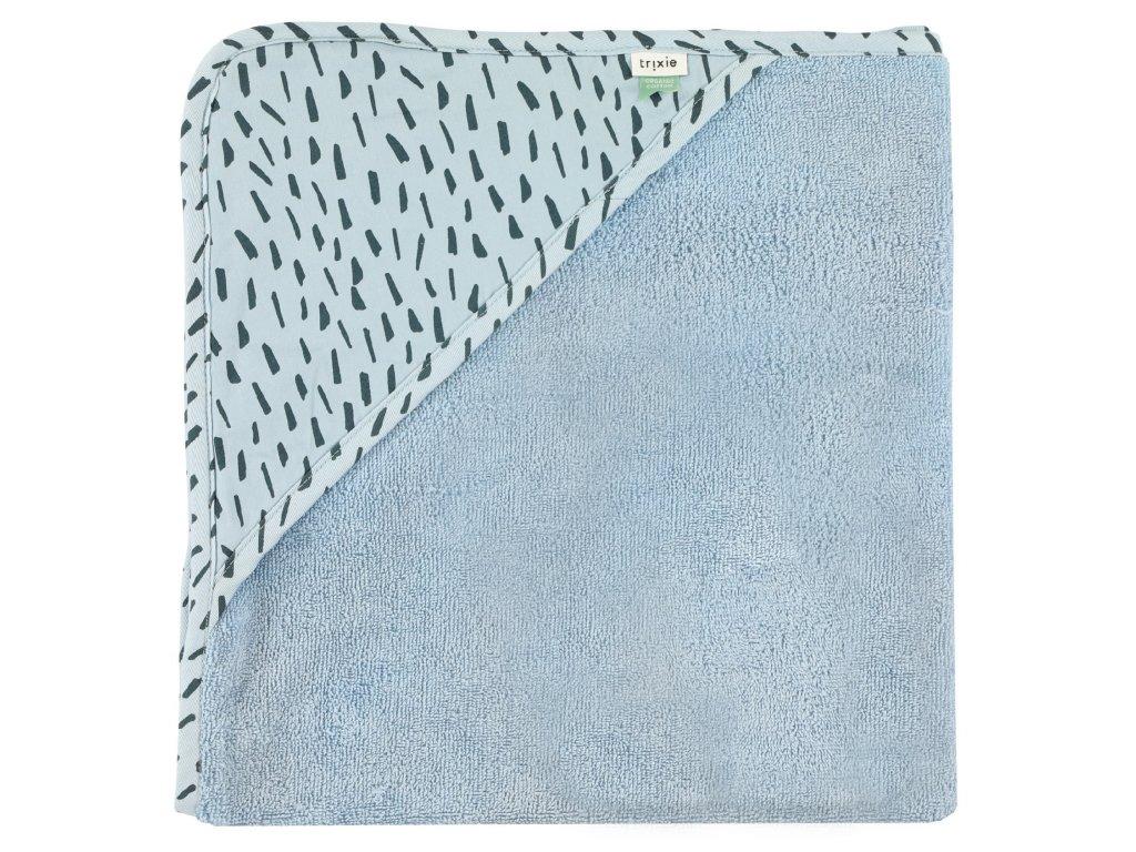 780 1 detska osuska s kapuci trixie xl blue meadow