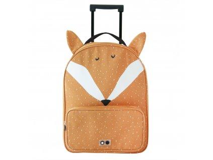 2025 detsky kufr na koleckach trixie mr fox