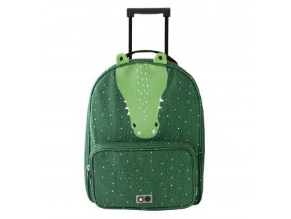 2106 detsky kufr na koleckach trixie mr crocodile