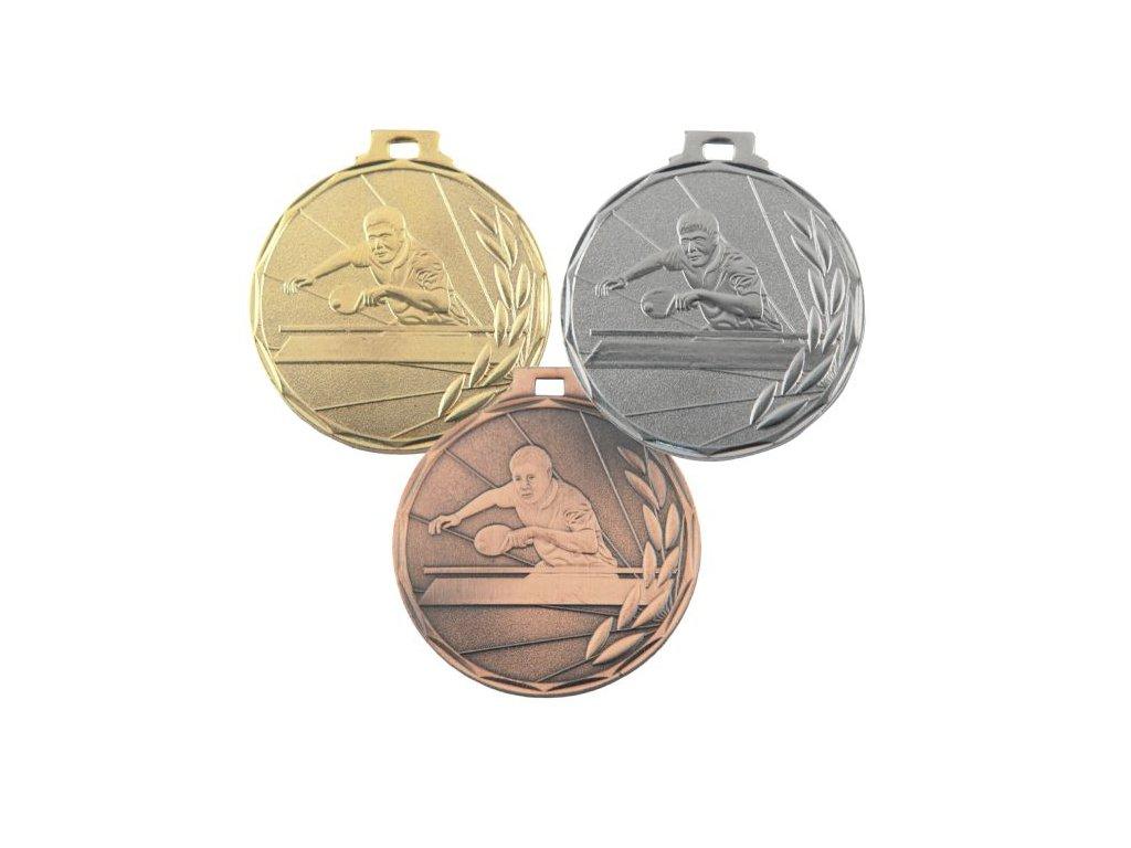 Medaila E7/_ stolný tenis 50mm