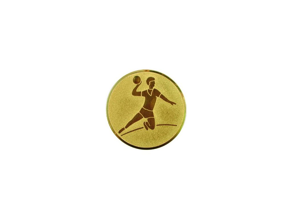 Emblém 25mm  04 hádzaná muži