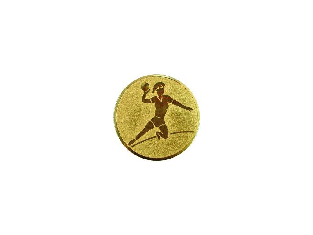 Emblém 25mm  05 hádzaná ženy