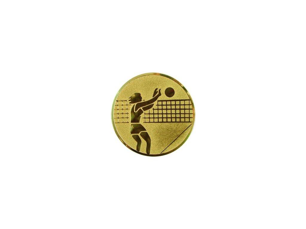 Emblém 25mm  07 volejbal ženy