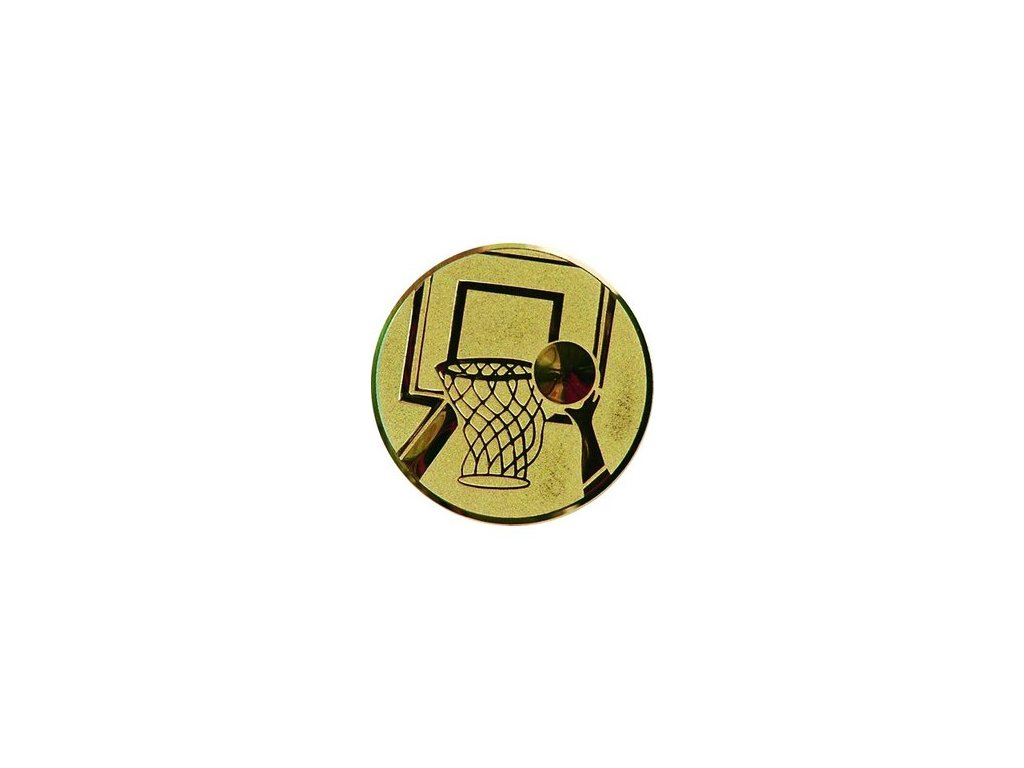 Emblém 25mm  08 basketbal