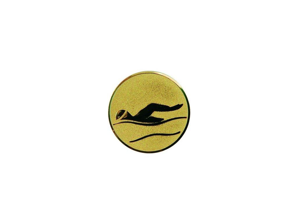 Emblém 25mm  09 plávanie