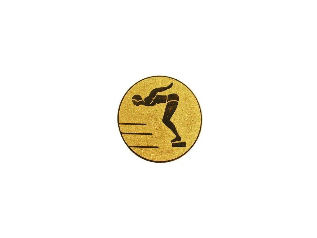 Emblém 25mm  11 plávanie