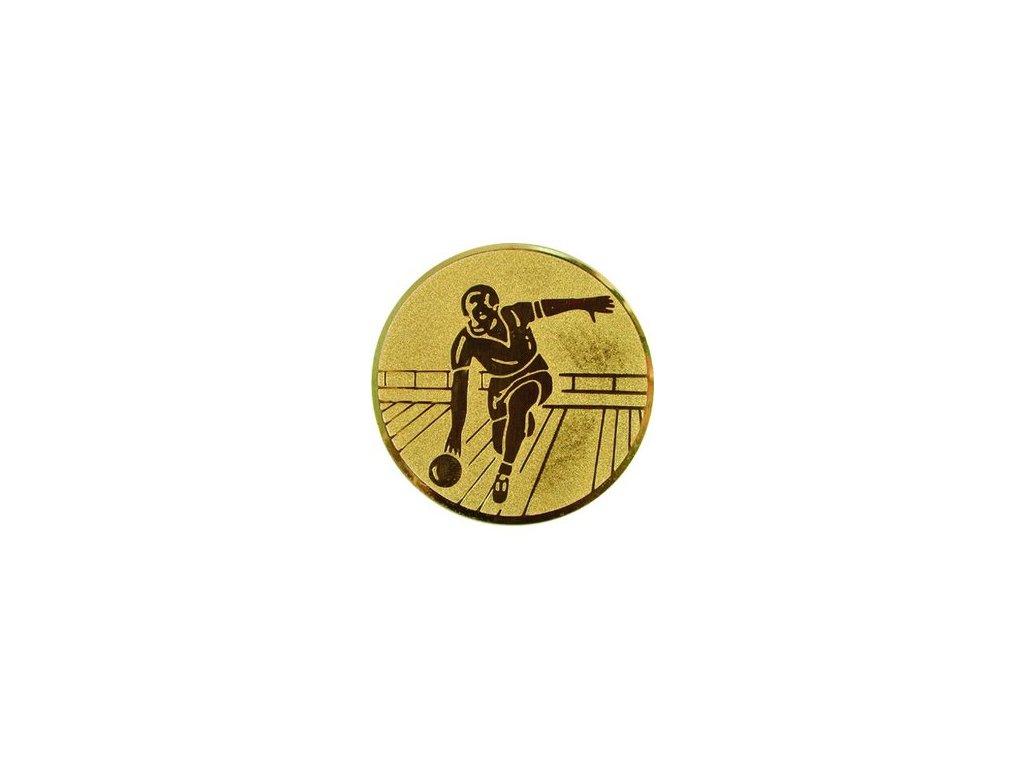 Emblém 25mm  14 bowling