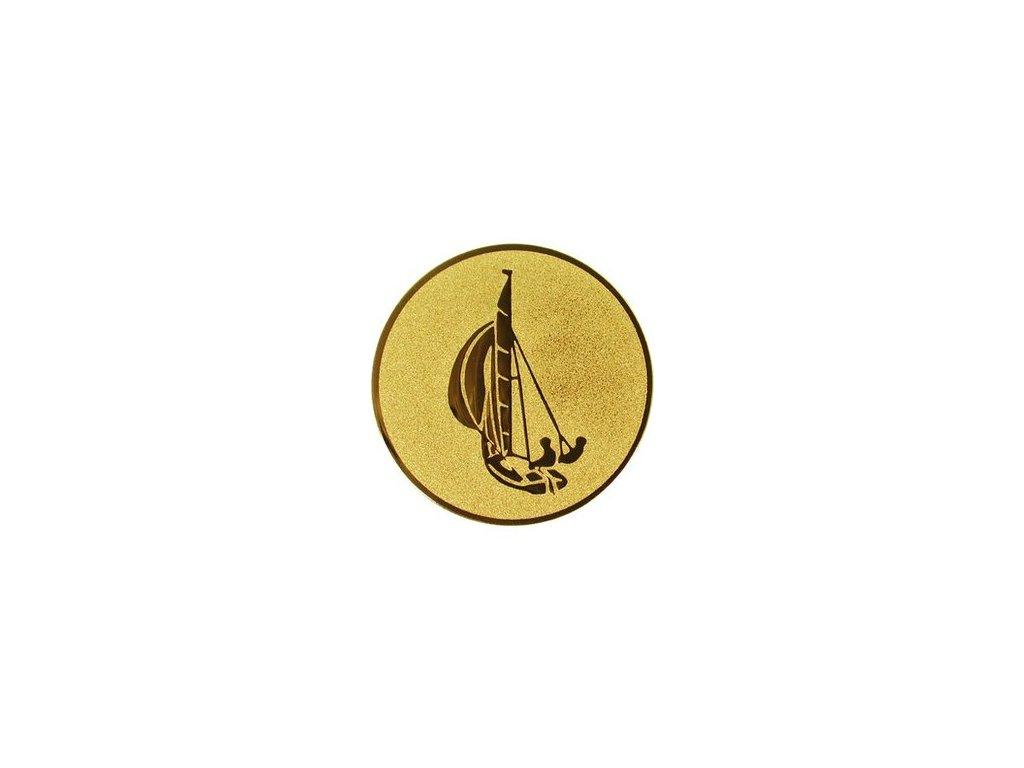 Emblém 25mm  16 jachting