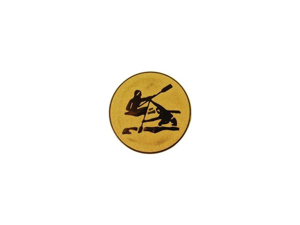Emblém 25mm  17 veslovanie