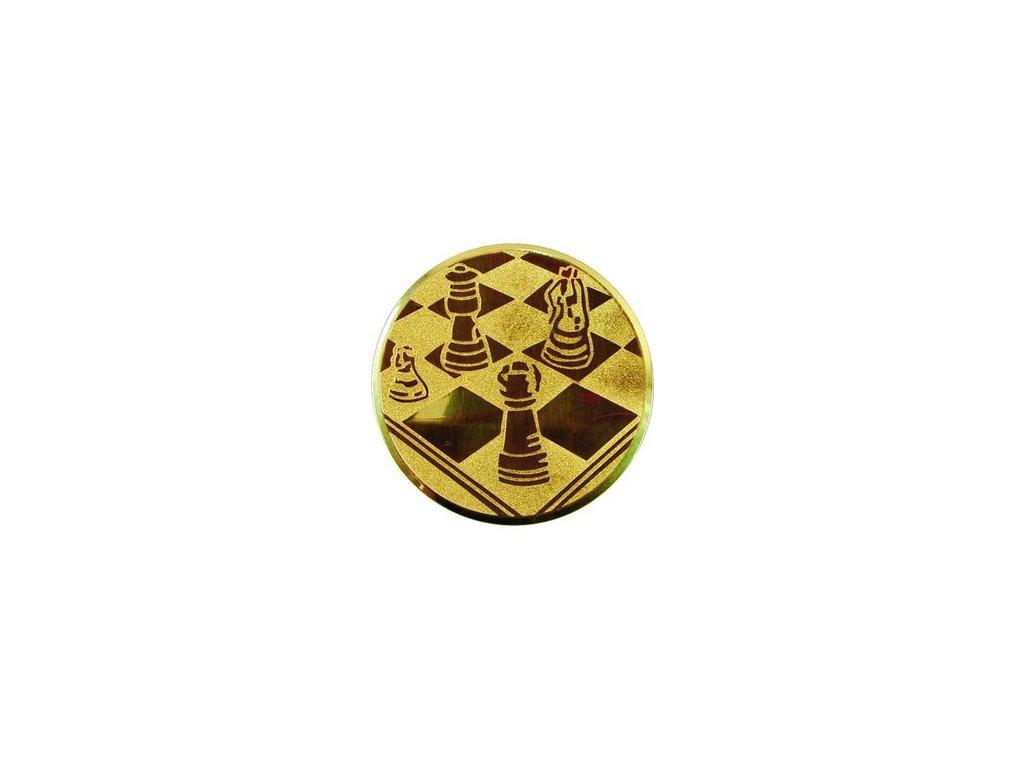 Emblém 25mm  22 šach