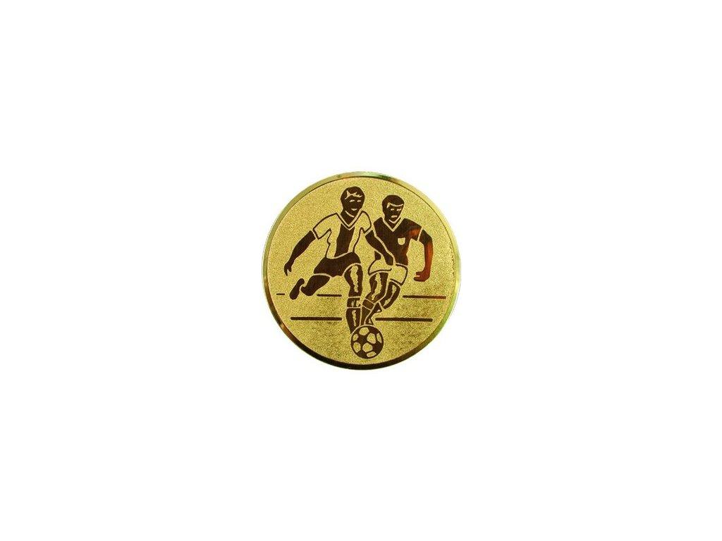 Emblém 25mm  36 futbal