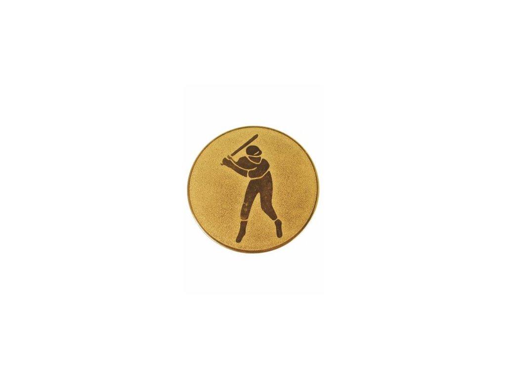 Emblém 25mm  42 baseball
