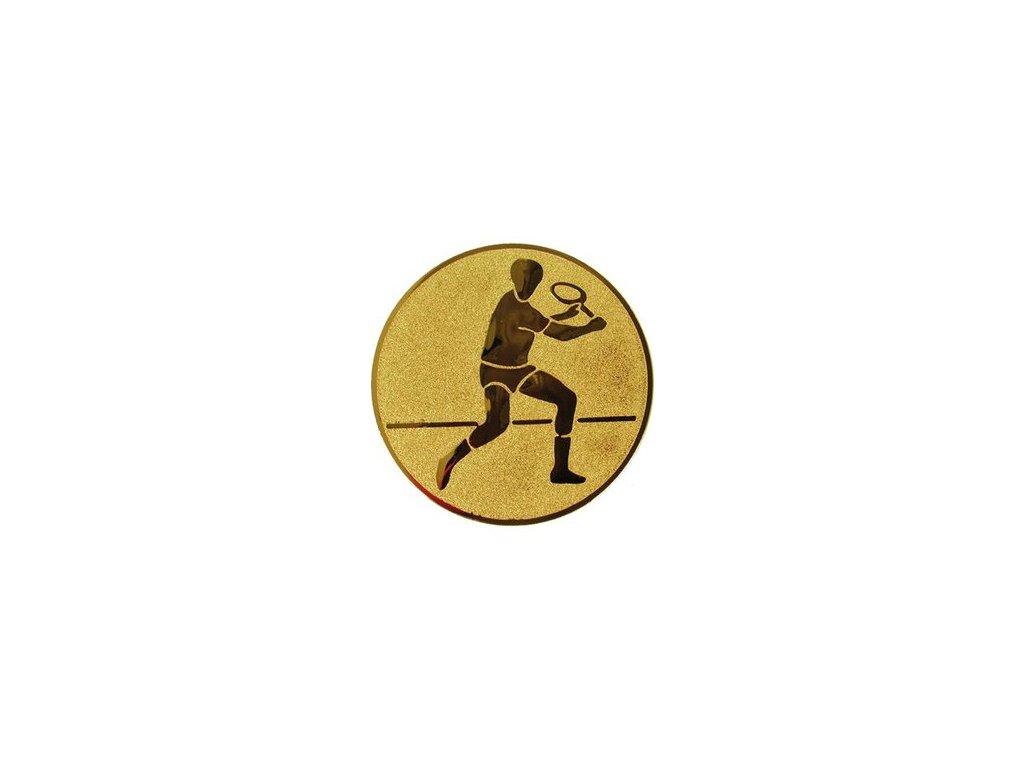Emblém 25mm  43 tenis muži