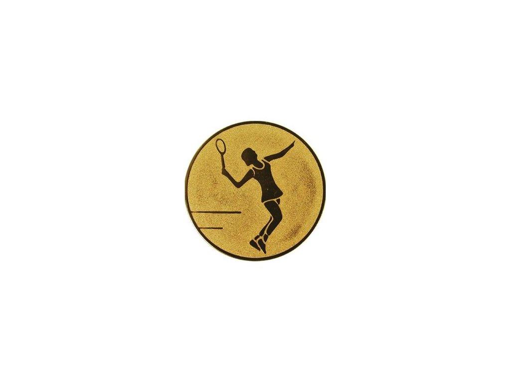 Emblém 25mm  44 tenis ženy