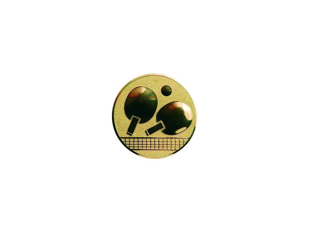 Emblém 25mm  46 stolný tenis