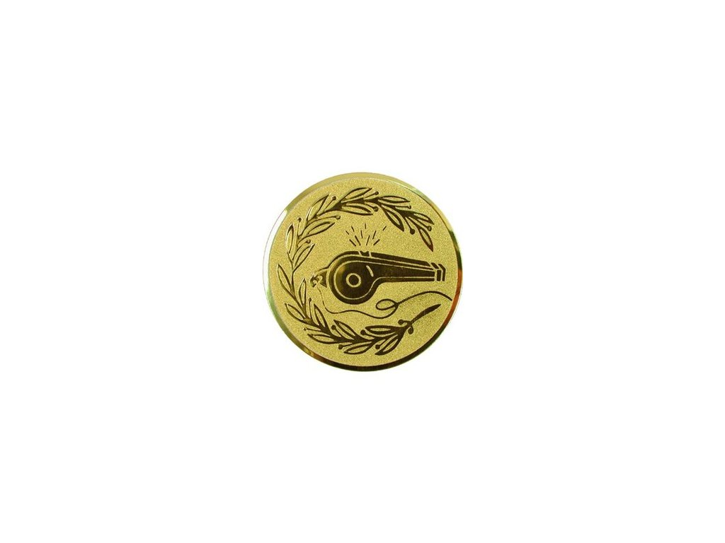 Emblém 25mm  48 píšťalka