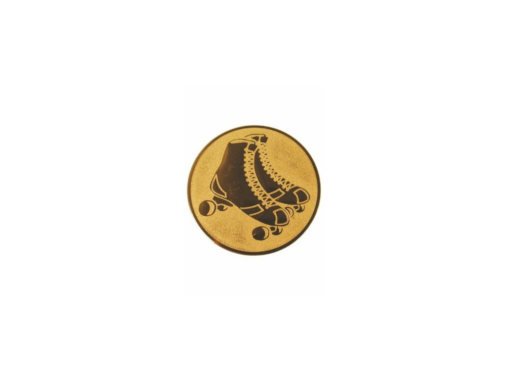 Emblém 25mm  49 korčule inline
