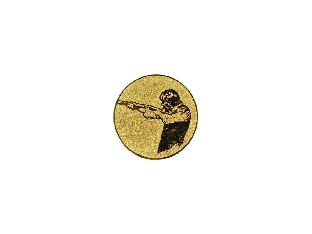 Emblém 25mm  52 streľba