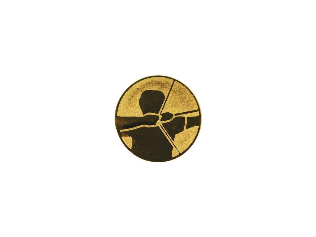 Emblém 25mm  54 lukostreľba
