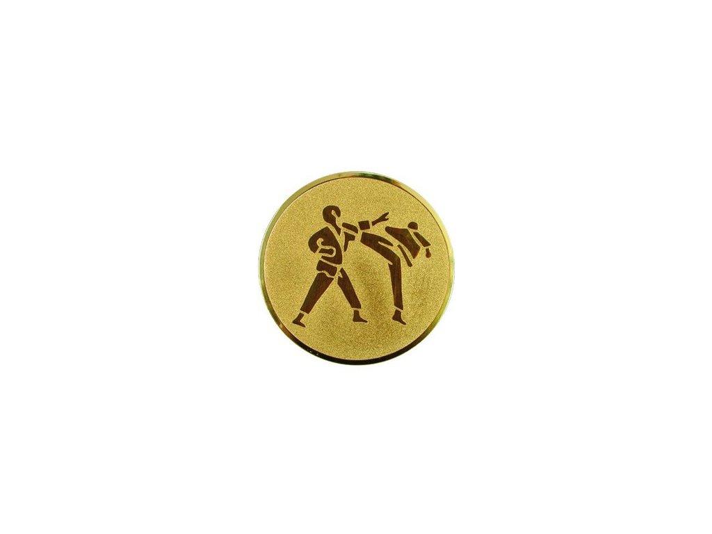 Emblém 25mm  60 karate