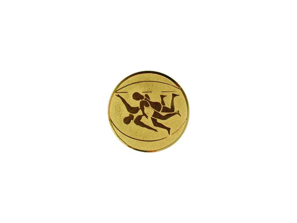 Emblém 25mm  61 zápasenie