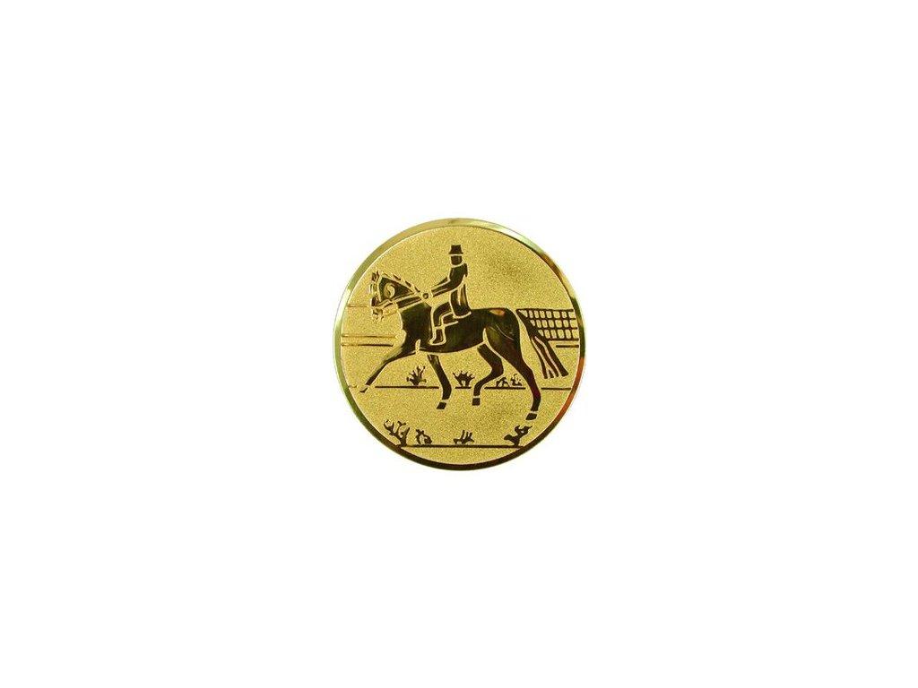 Emblém 25mm  66 kôň