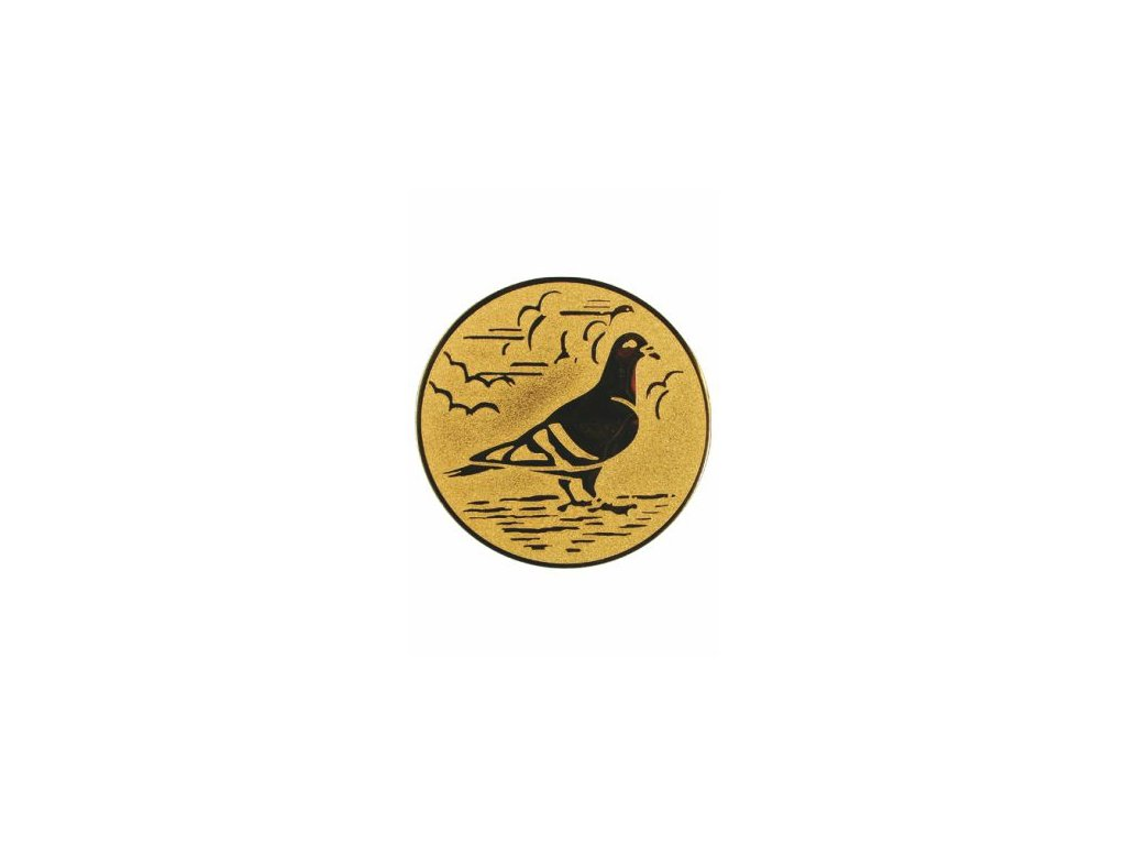 Emblém 25mm  68 holub