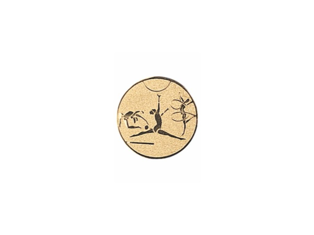 Emblém 25mm  75 gymnastika