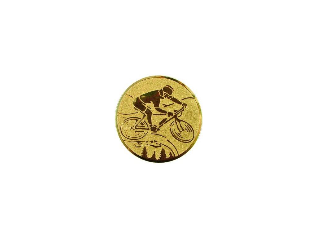 Emblém 25mm  81 bicykel MTB