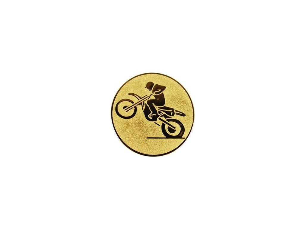 Emblém 25mm  82 motocross
