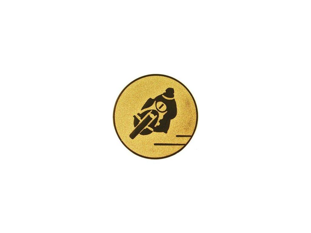 Emblém 25mm  84 motocykel