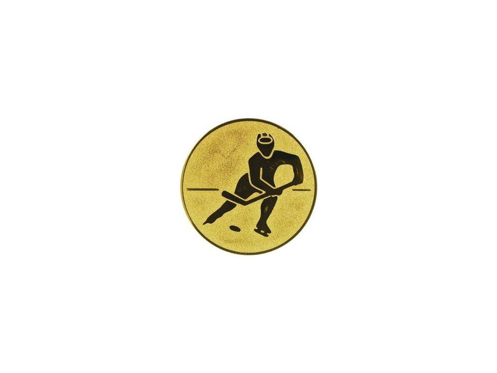 Emblém 25mm  85 ľadový hokej
