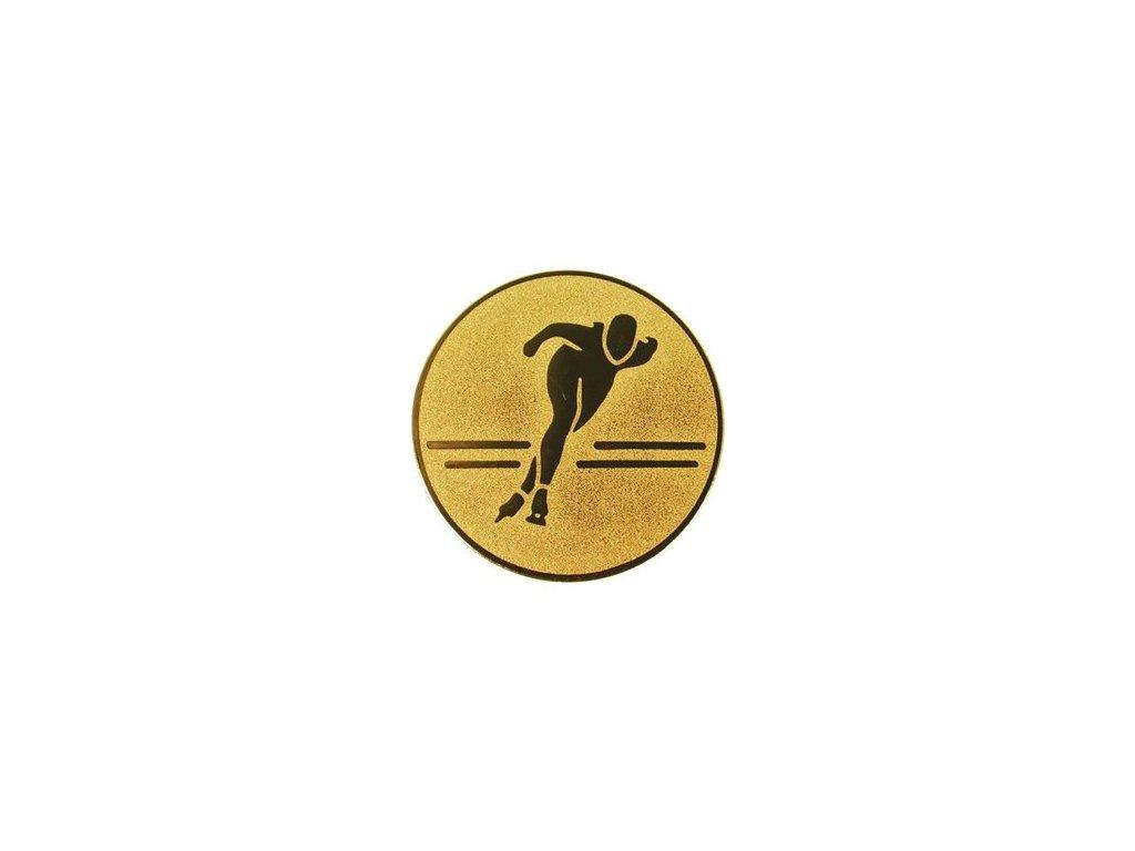 Emblém 25mm  86 korčuľovanie