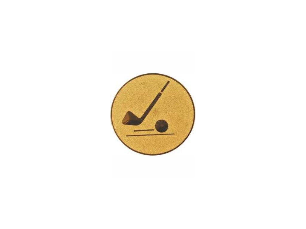 Emblém 25mm  87 golf