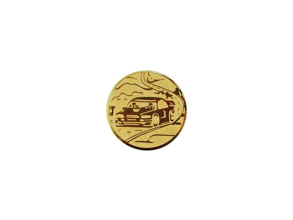 Emblém 25mm  90 autošport