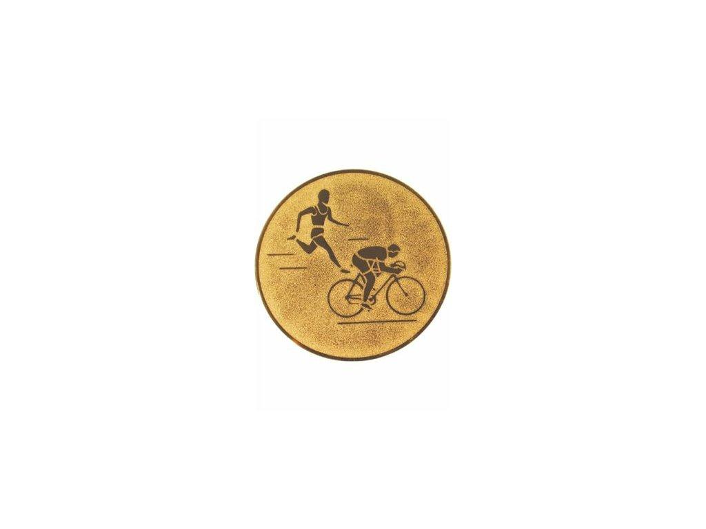Emblém 25mm  92 biatlon leto