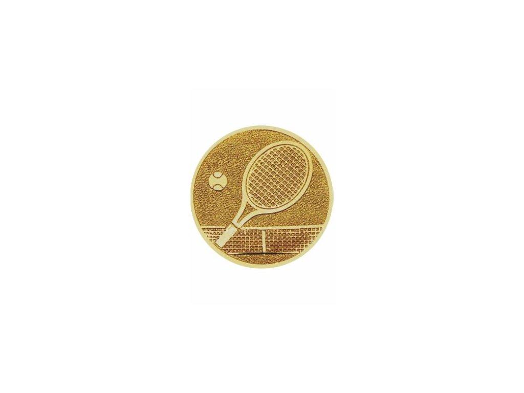 Emblém 25mm  99 tenis raketa