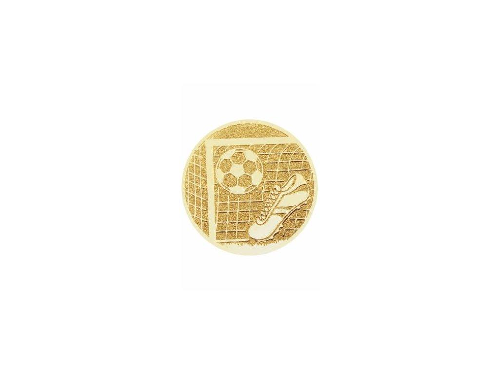 Emblém 25mm  102 futbal kopačka+lopta