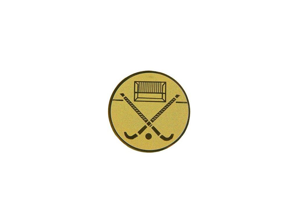 Emblém 25mm  104 pozemný hokej