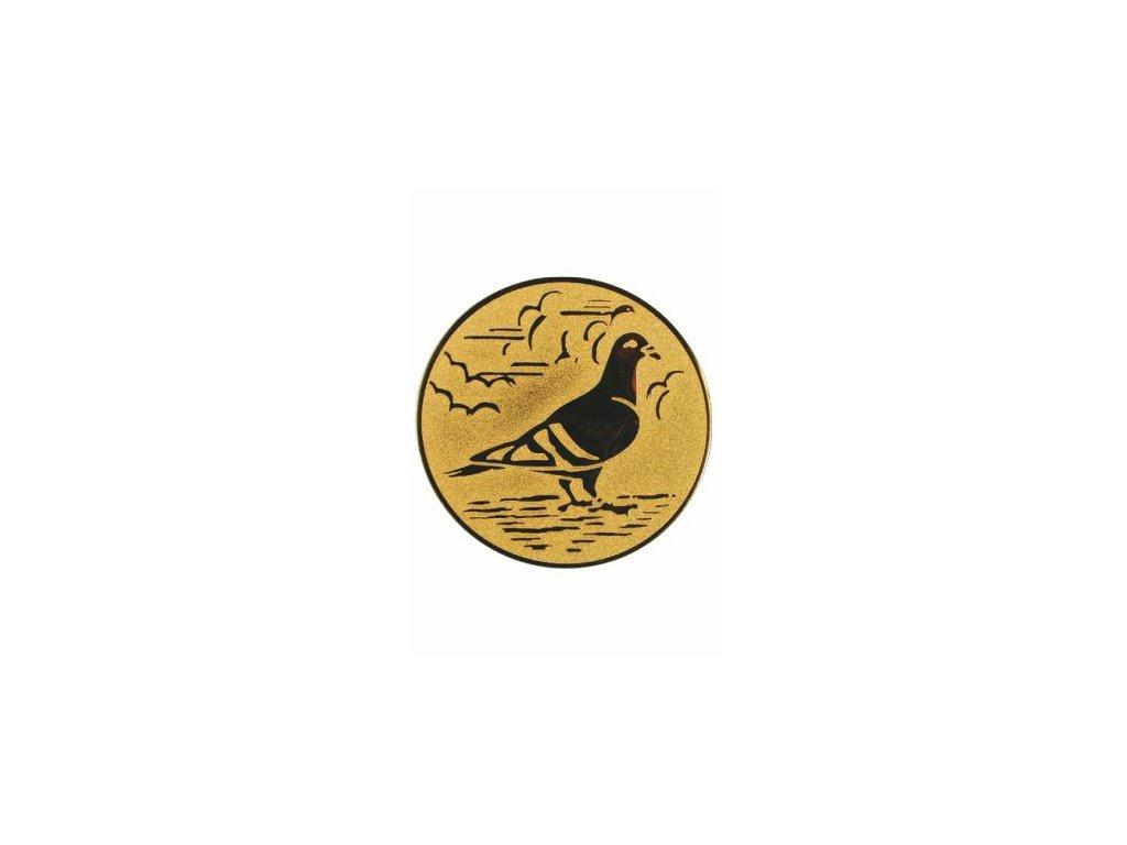 Emblém 50mm  68 holub