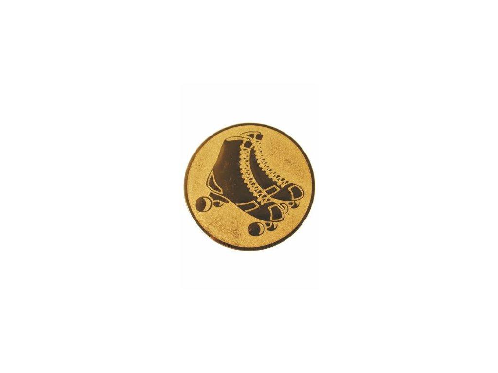 Emblém 50mm  49 korčule inline