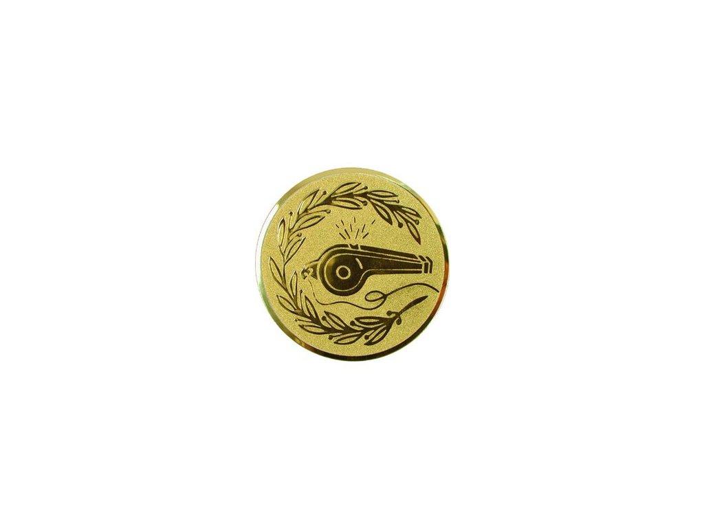 Emblém 50mm  48 píšťalka