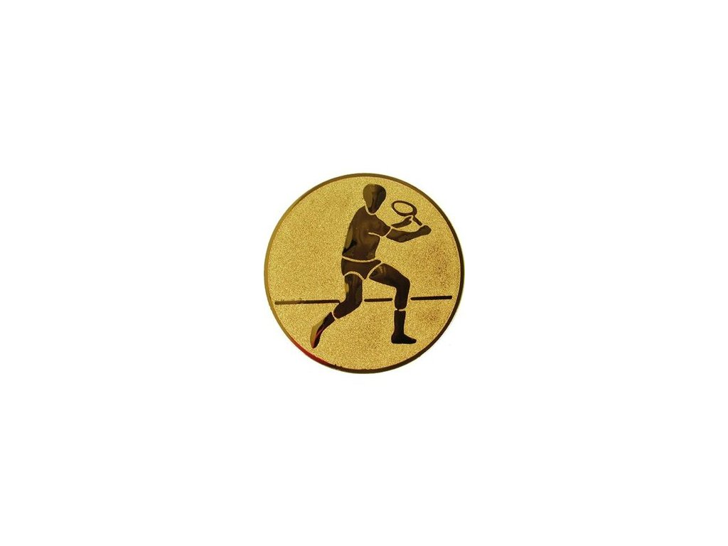 Emblém 50mm  43 tenis muži