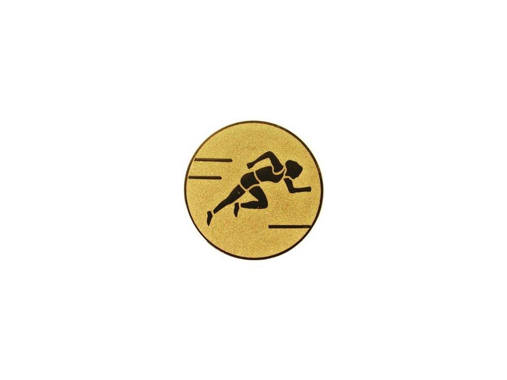 Emblém 50mm  31 beh ženy