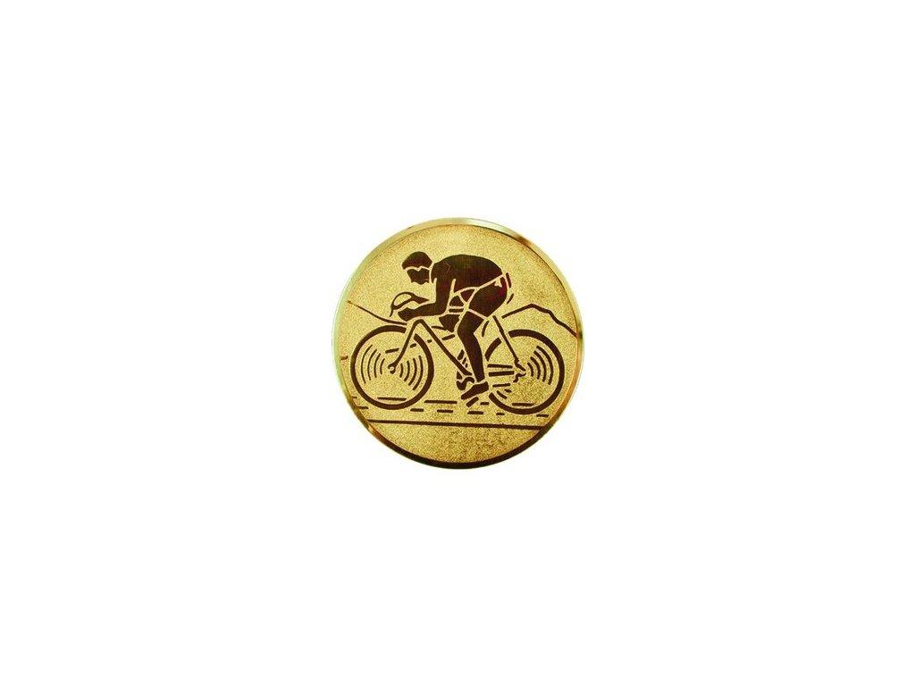 Emblém 50mm  28 cyklistika cestná